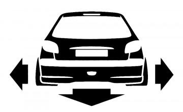 Autocolante para Peugeot 206