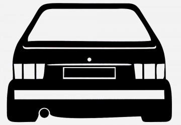 Autocolante para Volkswagen Golf MK1