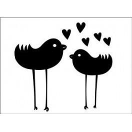 Autocolante - Pássaros 2
