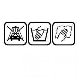 Autocolante - Passos de lavagem / Lavagem manual