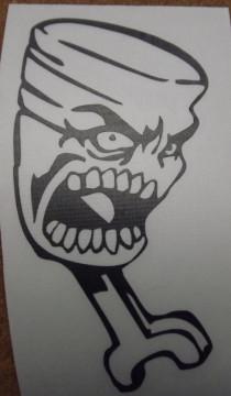 Autocolante - Pistão Monstro
