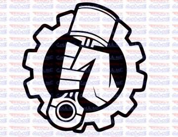 Autocolante - Piston