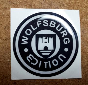 Autocolante Resinado 3D com Wolfsburg Edtion - 20mm