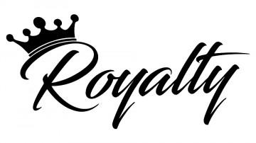 Autocolante - Royalty
