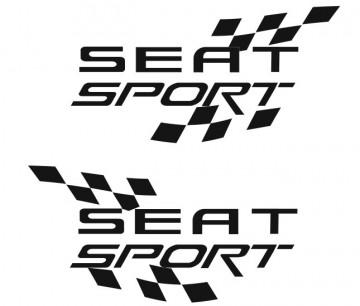 Autocolante - Seat Sport (par)