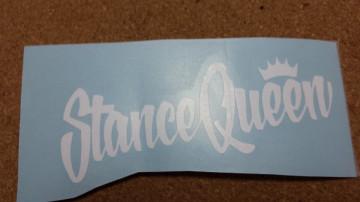 Autocolante - Stance Queen