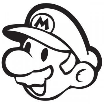 Autocolante - Super Mario 2