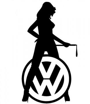 Autocolante - Volkswagen sexy