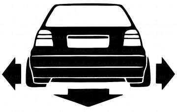 Autocolante - VW GOLF 3