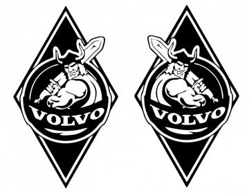 Autocolantes -Volvo (Par)