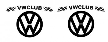 Autocolantes - VW Club