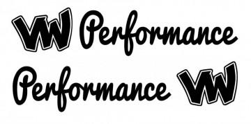 Autocolantes - VW  performance