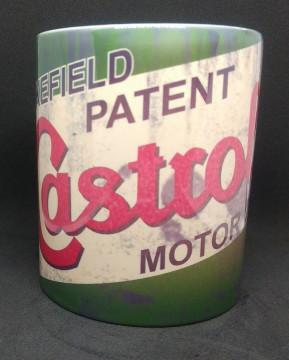 Caneca com Castrol Motor Oil