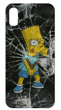 Capa de telemóvel com Bart Simpson