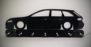 Chaveiro em Acrílico com Audi A4 B8 (Carrinha)