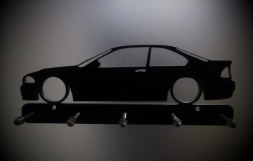 Chaveiro em Acrílico com BMW E46 coupe