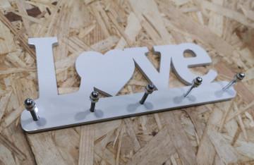 Chaveiro em Acrílico - LOVE