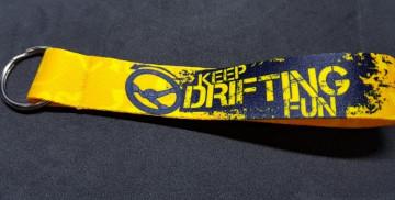 Fita Porta Chaves com Keep Drifting Fun