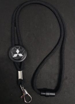 Fita Porta Chaves (lanyard) de Pescoço Ajustável para Mitsubishi