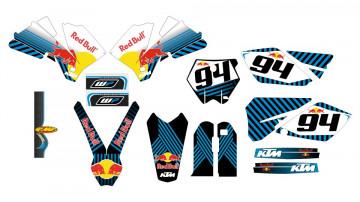 Kit Autocolantes Para Moto - KTM SX / MX 04-06