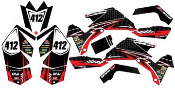 Kit Autocolantes Para Moto - Suzuki LTR 450