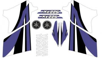 Kit Autocolantes Para Moto - YAMAHA XT 225 2007
