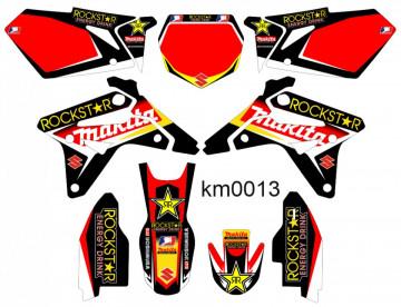 Kit Autocolantes Para Suzuki RMZ 450 - 2007