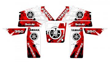 Kit Autocolantes Para Yamaha Banshee 350