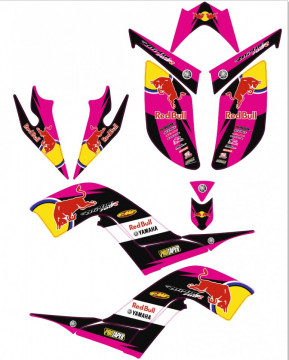 Kit Autocolantes Para Yamaha Raptor 700R