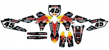 Kit Autocolantes Para Yamaha YZF 250 / 450 14-17