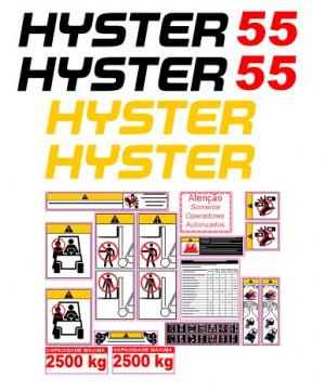 Kit de Autocolantes para HYSTER 55