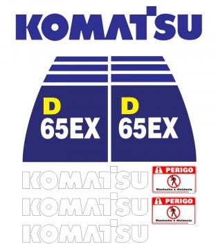 Kit de Autocolantes para KOMATSU D65EX