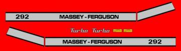 Kit de Autocolantes para Massey Ferguson 292