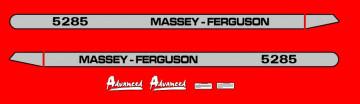 Kit de Autocolantes para Massey Ferguson 5285