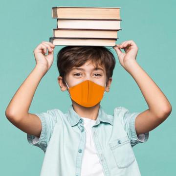 Máscara bico de pato de criança | 100 lavagens