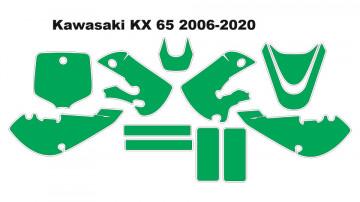Molde - Kawasaki KX 65 2006-2020