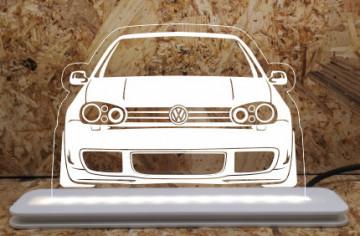 Moldura / Candeeiro com luz de presença - Volkswagen Golf IV (4)