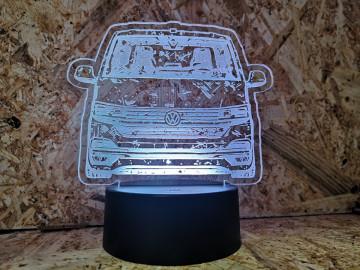 Moldura / Candeeiro com luz de presença - Volkswagen Transporter T6