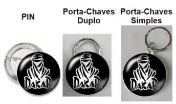 Pin / Porta Chaves - Dakar