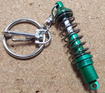 Porta Chaves - Amortecedor com mola - Verde