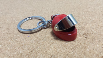 Porta Chaves - Capacete Vermelho