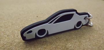 Porta Chaves com silhueta de Honda Civic Del Sol