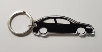 Porta Chaves de Acrílico com silhueta de Opel Astra G