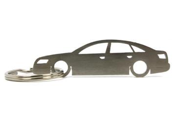 Porta Chaves em inox com silhueta com Audi A6 C6