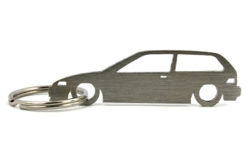 Porta Chaves em inox com silhueta com Honda Civic (4gen) EF