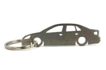 Porta Chaves em inox com silhueta com Volkswagen Jetta MK5