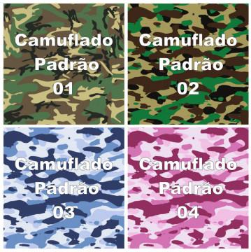 Rolo Vinil Camuflado - Laminado