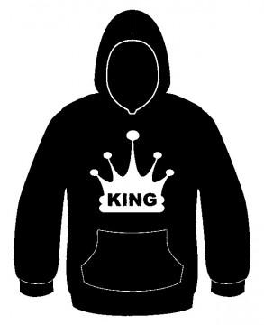 Sweatshirt com capuz - King