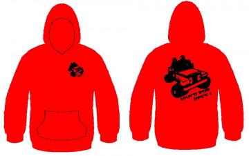 Sweatshirt com capuz - Louco por jipes