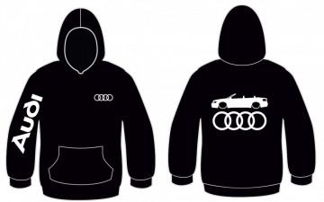 Sweatshirt com capuz para Audi A4 B6 Cabrio